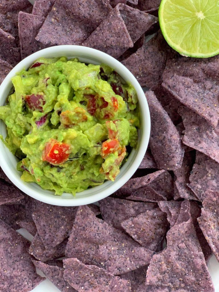 creamy 5 minute guacamole