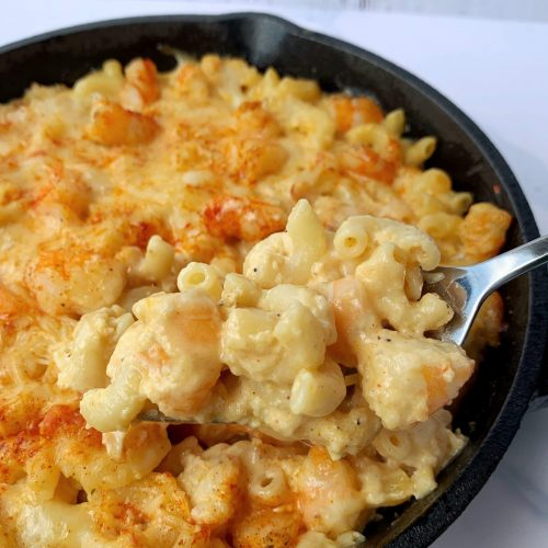 ultimate seafood mac & cheese
