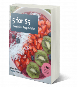 5 for $5 breakfast edition e-book