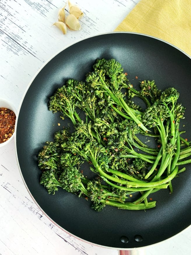 herb roasted broccolini